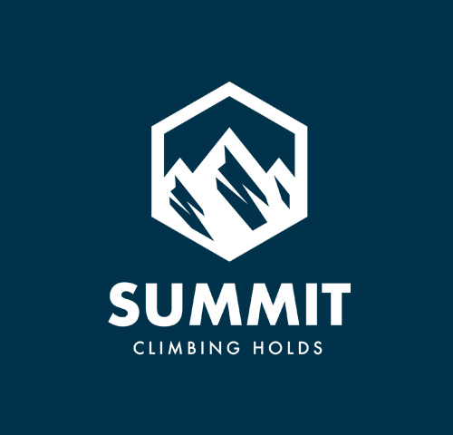 Summit Climbing Holds logo